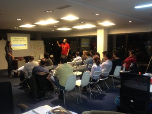 Meetup at Paradigma de Internet of Things