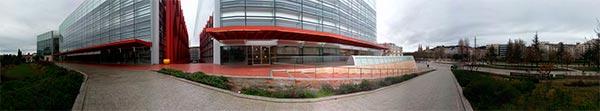 Panorámica del Teatro Principal de Burgos, sede de iRedes 2013