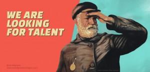 flyer Paradigma for Spainjs recruiting