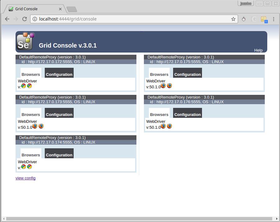 Entornos de Selenium Grid: Local vs Virtualizado - Paradigma